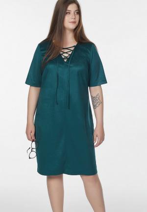 Платье Fly. Цвет: зеленый