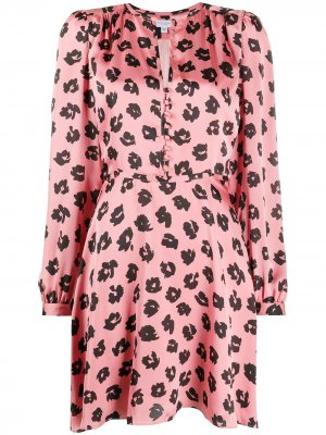 Платье Danette Equipment. Цвет: розовый