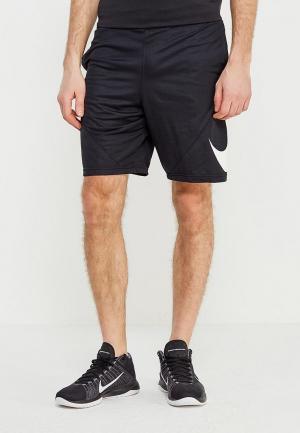 Шорты спортивные Nike Mens Basketball Shorts. Цвет: черный