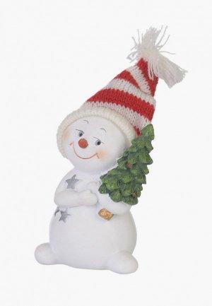 Фигурка декоративная Decogallery Снеговик