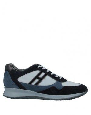 Кеды и кроссовки HOGAN. Цвет: темно-синий