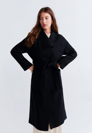 Пальто Mango - BURNS-S. Цвет: черный