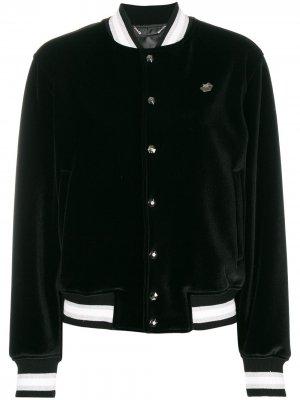 Куртка-бомбер Miss Plein Diva Philipp. Цвет: черный