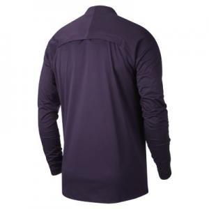 Мужская игровая футболка с длинным рукавом AeroShield Tottenham Hotspur Strike Drill Nike. Цвет: пурпурный
