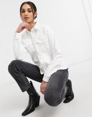Белоснежная рубашка Astrid-Белый Gestuz