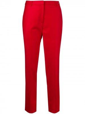 Зауженные брюки Iginus John Richmond. Цвет: красный