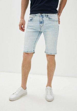 Шорты джинсовые Indicode Jeans. Цвет: голубой