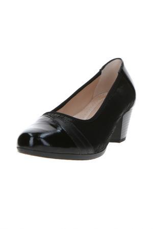 Туфли Alpina. Цвет: черный