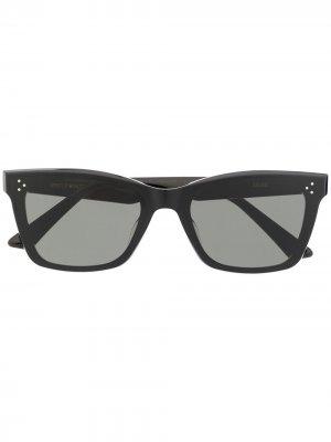 Солнцезащитные очки Solbei в оправе кошачий глаз Gentle Monster. Цвет: черный