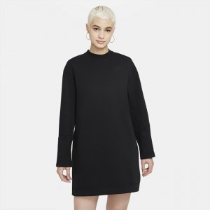 Платье с длинным рукавом Sportswear Tech Fleece - Черный Nike
