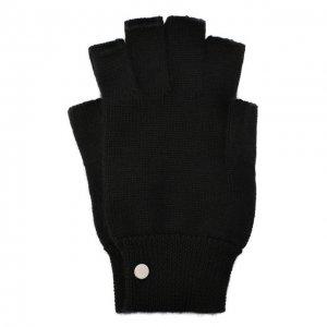 Кашемировые перчатки Rick Owens. Цвет: чёрный