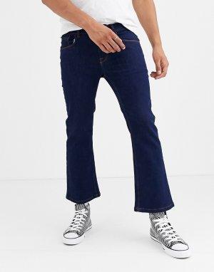 Темно-синие расклешенные джинсы скинни -Темно-синий Heart & Dagger