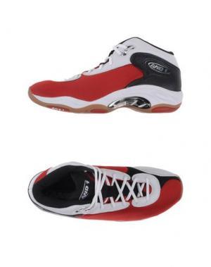 Высокие кеды и кроссовки AND1. Цвет: белый