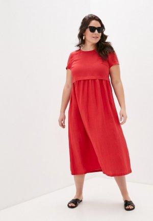 Платье Electrastyle. Цвет: красный