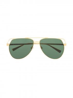 Telma aviator sunglasses The Attico. Цвет: золотистый