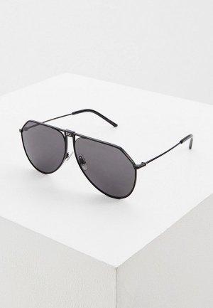 Очки солнцезащитные Dolce&Gabbana DG2248 110687. Цвет: черный
