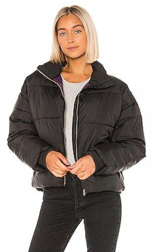 Дутая куртка skylar Dr. Denim. Цвет: черный