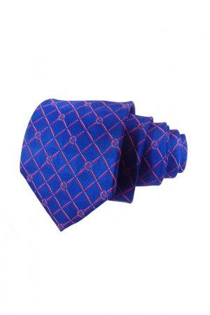 Галстук F.FRANTELLI. Цвет: синий,красный