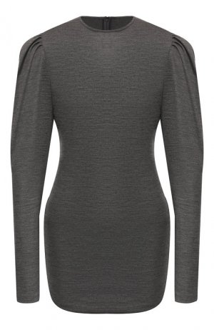 Шерстяной пуловер Isabel Marant. Цвет: серый
