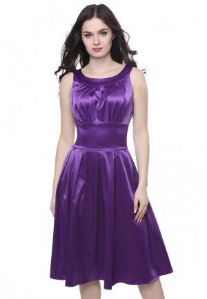 Платье Grey Cat AUDRA. Цвет: фиолетовый