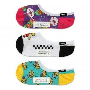 Носки Vans X Simpsons Family Canoodles (3 шт.). Цвет: мульти