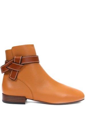 Ботинки кожаные Gate LOEWE