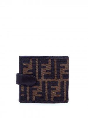 Бумажник Zucca 2000-х годов Fendi Pre-Owned. Цвет: коричневый