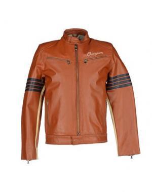 Куртка CHEVIGNON. Цвет: коричневый