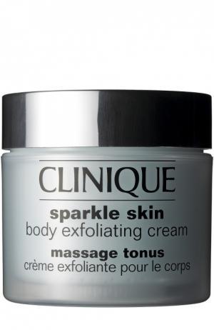 Отшелушивающий крем для тела Sparkle Skin Clinique. Цвет: бесцветный
