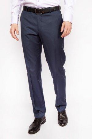 Костюмные зауженные брюки из шерсти KANZLER