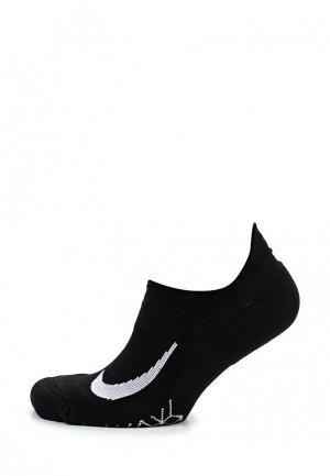 Носки Nike Dry Elite Cushioned No-Show. Цвет: черный