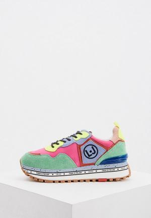 Кроссовки Liu Jo. Цвет: разноцветный