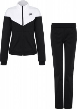 Костюм женский Sportswear, размер 50-52 Nike. Цвет: черный