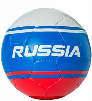 Мяч футбольный сувенирный Demix. Цвет: красный