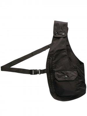 Сумка-жилет Engineered Garments. Цвет: черный
