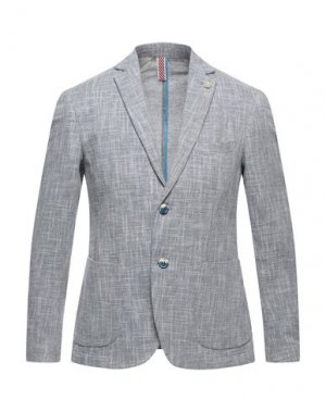 Пиджак SSEINSE. Цвет: серый