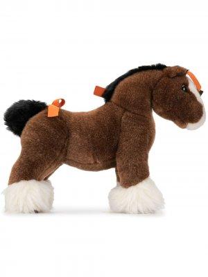 Плюшевая игрушка Hermy MM Hermès. Цвет: коричневый