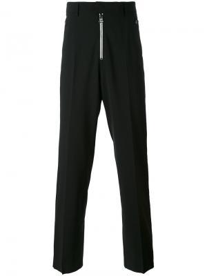 Классические брюки свободного кроя Lanvin. Цвет: чёрный