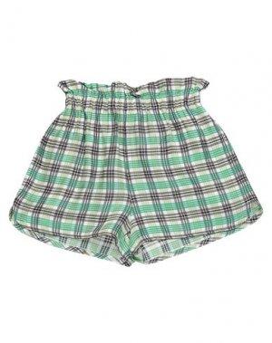 Мини-юбка SUOLI. Цвет: зеленый