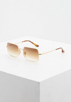 Очки солнцезащитные Ray-Ban® RB1969 914751. Цвет: золотой