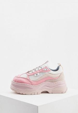 Кроссовки Chiara Ferragni Collection. Цвет: розовый