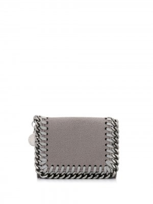 Бумажник Falabella Stella McCartney. Цвет: серый