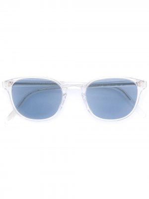Солнцезащитные очки Fairmont Oliver Peoples. Цвет: белый