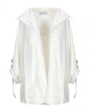 Легкое пальто GAëLLE Paris. Цвет: белый