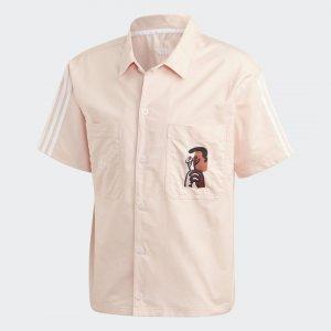 Рубашка Unity Ref (Унисекс) Originals adidas. Цвет: розовый