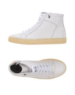 Высокие кеды и кроссовки B-STORE. Цвет: белый
