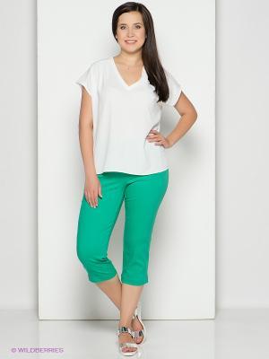 Капри Femme. Цвет: зеленый
