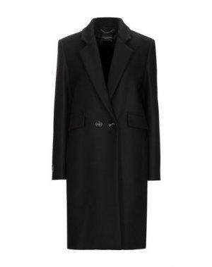 Пальто ATOS LOMBARDINI. Цвет: черный