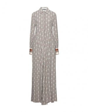 Длинное платье EMMA & GAIA. Цвет: бежевый