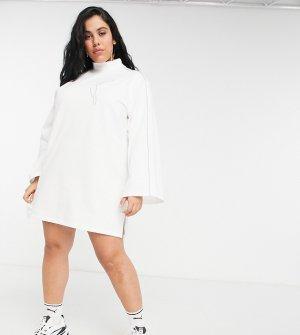 Белое платье PUMA Plus Icons 2.0 Fashion-Белый